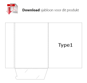 Download sjabloon type1 voor mappen bedrukken
