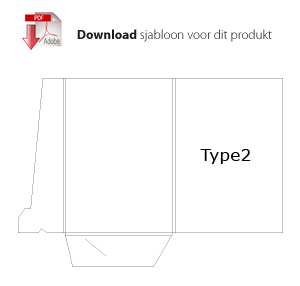Download sjabloon type2 voor mappen bedrukken