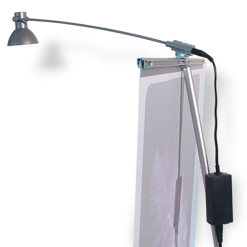 Pop Up Banner 4 Screen spot lamp