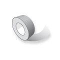 Bedrukt tape PVC 50mm rol