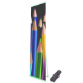 L-banner Budget 85 x 200 cm