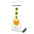 Roll Up Banner Budget 85 x 200 cm