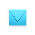 Blauwe enveloppen 120x120mm - Gratis bezorgd