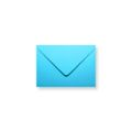 Blauwe enveloppen 90x140mm - Gratis bezorgd