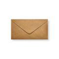 Brons metallic enveloppen 110x220mm - Gratis bezorgd