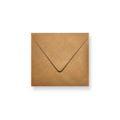 Brons metallic enveloppen 160x160mm - Gratis bezorgd