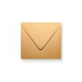 Bruine enveloppen 120x120mm - Gratis bezorgd