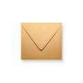 Bruine enveloppen 160x160mm - Gratis bezorgd