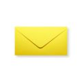 Gele enveloppen 110x220mm - Gratis bezorgd