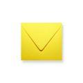 Gele enveloppen 160x160mm - Gratis bezorgd