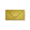 Goud metallic enveloppen 110x220mm - Gratis bezorgd