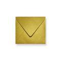 Goud metallic enveloppen 160x160mm - Gratis bezorgd