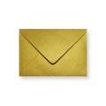 Goud metallic enveloppen 110x156mm - Gratis bezorgd