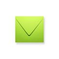 Groene enveloppen 140x140mm - Gratis bezorgd