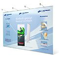 Pop Up Banner 4 Screen 200 x 215 cm