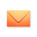 Oranje enveloppen 110x156mm - Gratis bezorgd