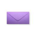 Paarse enveloppen 110x220mm - Gratis bezorgd