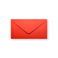 Rode enveloppen 110x220mm - Gratis bezorgd