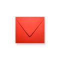Rode enveloppen 140x140mm - Gratis bezorgd
