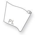 Prints op rol - stickermateriaal polymeer + gelamineerd