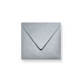 Zilver metallic enveloppen 140x140mm - Gratis bezorgd