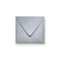 Zilver metallic enveloppen 160x160mm - Gratis bezorgd