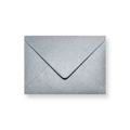Zilver metallic enveloppen 220x156mm (A5) - Gratis bezorgd