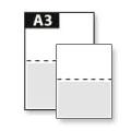 Tweezijdige posters A3 (29,7 x 42 cm) full-color 250 grs papier