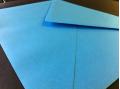 Blauwe enveloppen 120x180mm - Gratis bezorgd